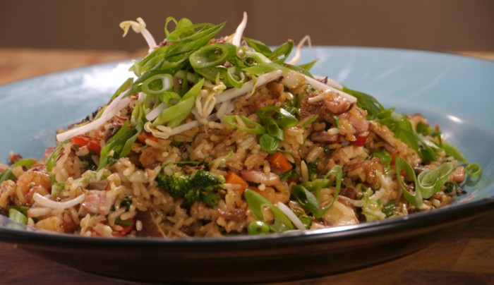 Special Fried Rice with Chicken | Good Chef Bad Chef