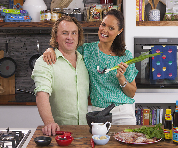 Chef Adrian Richardson and nutritionist Zoe Bingley-Pullin are back for another exciting season!