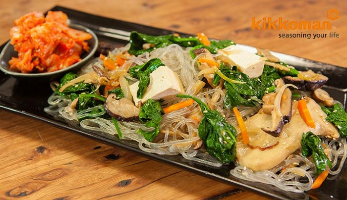 Japchae - Stir Fried Noodles with Tofu | Good Chef Bad Chef