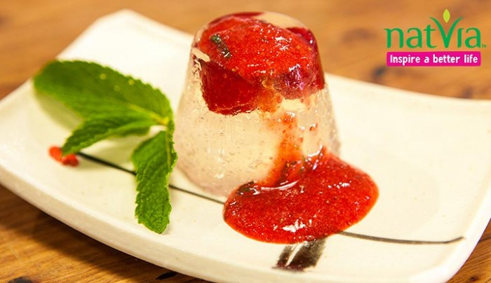 Raspberry & Rosewater Jelly with Strawberry Coulis | Good Chef Bad ...