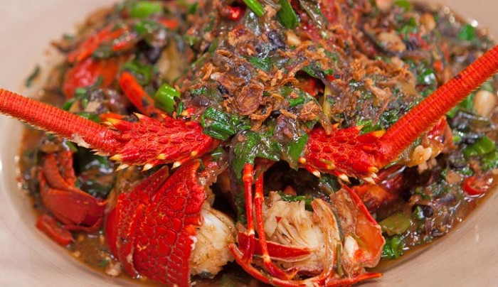 Crayfish with Black Beans