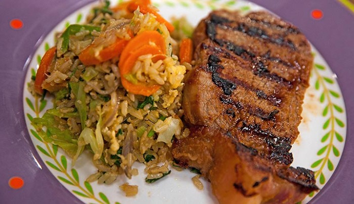 ... Rice Stir Fry Rice with Miso Marinated Steak | Good Chef Bad Chef