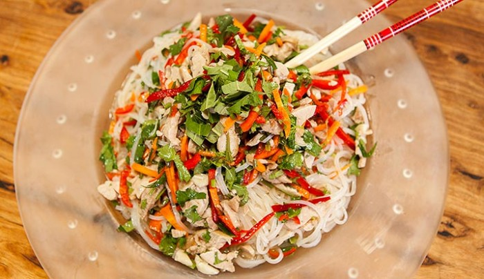 Thanks for Asian chicken noodle salad the