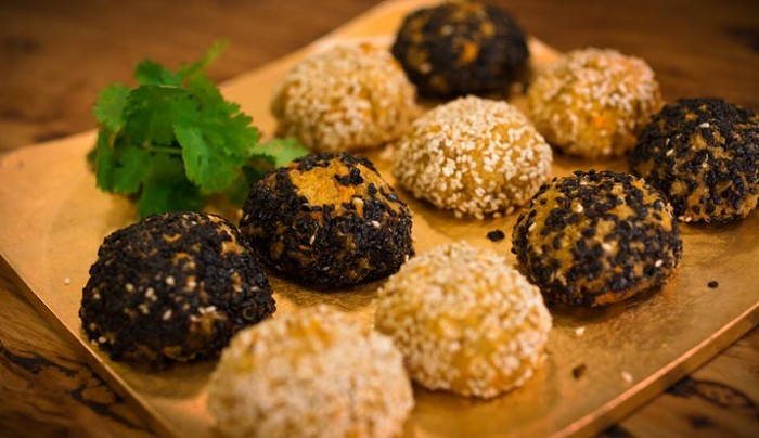 Japanese Quinoa and Millet Balls