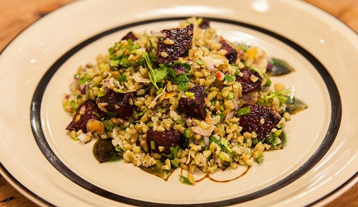 Freekeh Salad with Roasted Beetroot