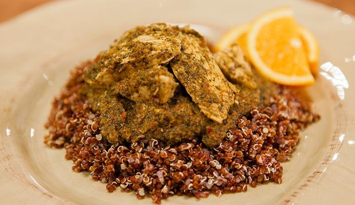 Chermoula Chicken and Quinoa
