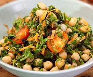 Moroccan Marinated Chickpeas