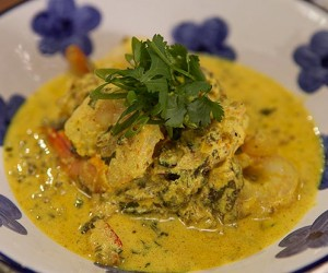 Prawns Cooked in Spices and Yoghurt