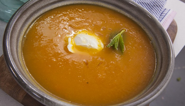 Carrot and Orange Soup