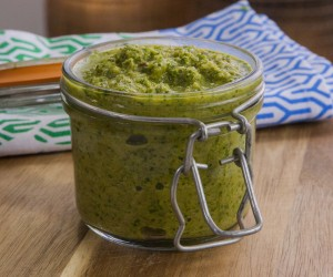 Raw Green Curry Paste
