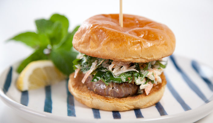 Sweet and Sour Beef Steak Sandwiches