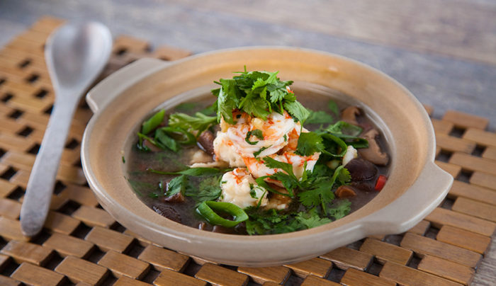 Clear Prawn Thai Soup
