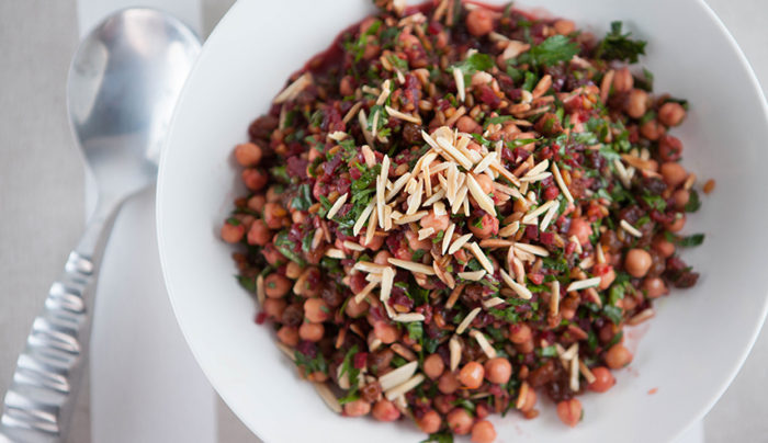Moroccan Freekeh and Beetroot Salad