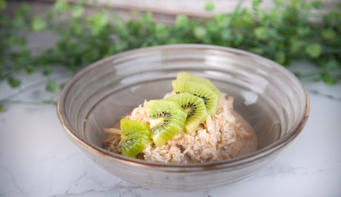 Oat, Apple & Kiwi Bircher Muesli