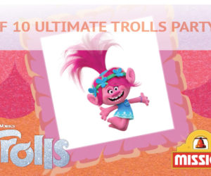 Win the Ultimate Trolls Party Pack with Mission!