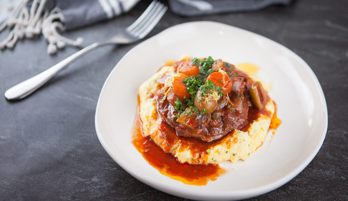 Osso Bucco with Polenta