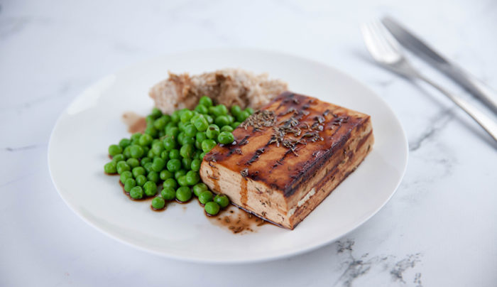 Black Pepper Tofu Steak