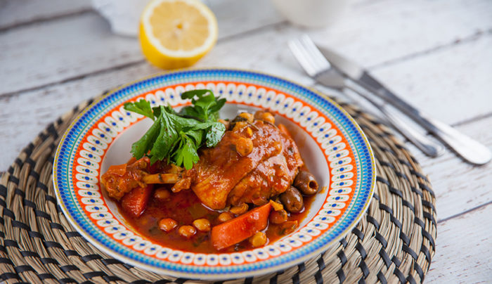 Moroccan Duck Tagine
