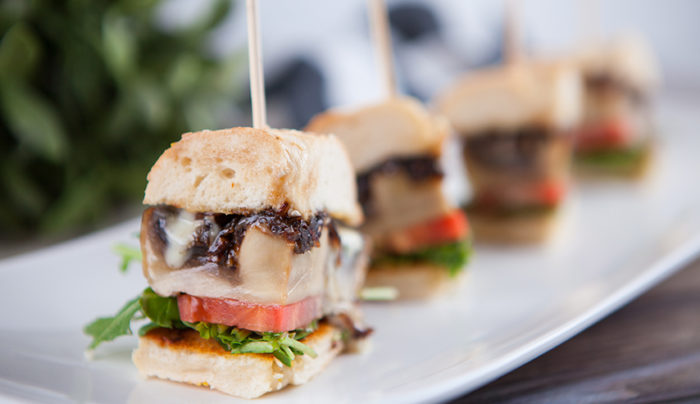 Blue Cheese & Portobello Mushroom Slider