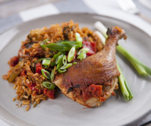 Peruvian Rice with Duck (Arroz con Pato)