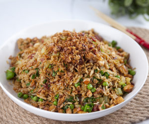 Fried Rice with Leftovers