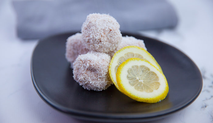 Lemon Coconut Balls