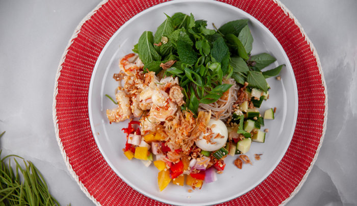 Prawn and Glass Noodle Salad