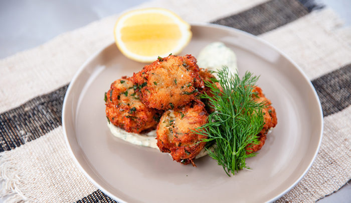 Portuguese Seafood Fritter