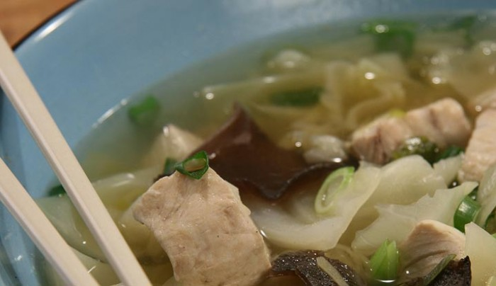 King Fish and Cabbage Broth