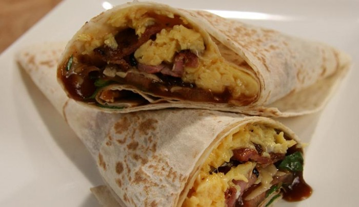 Adrian's Breakfast Wrap