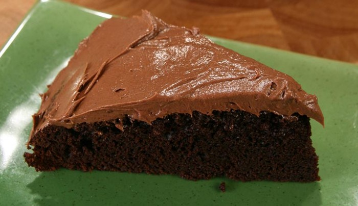 Chocolate Cake with Chocolate Cream Frosting