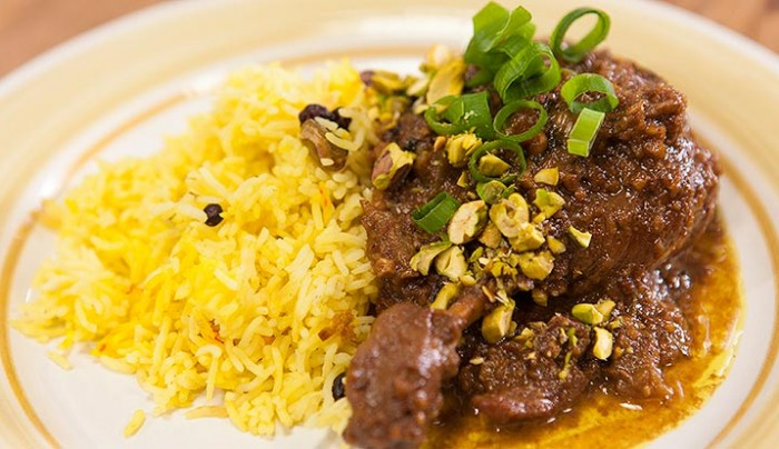 Persian Duck with Walnuts