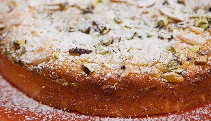 Ricotta Lime and Almond Cake