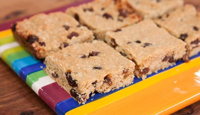Gluten Free Sultana and Quinoa Slice