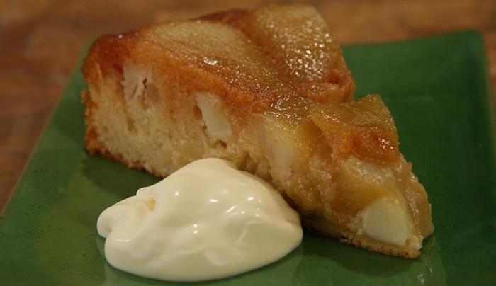 Caramel, Apple and Pear Pudding