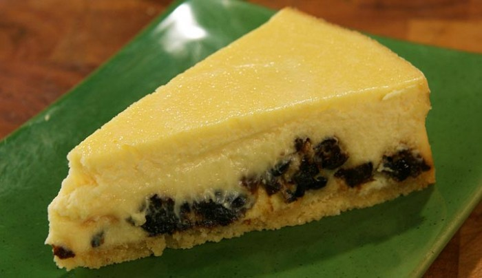 Prune Cheesecake