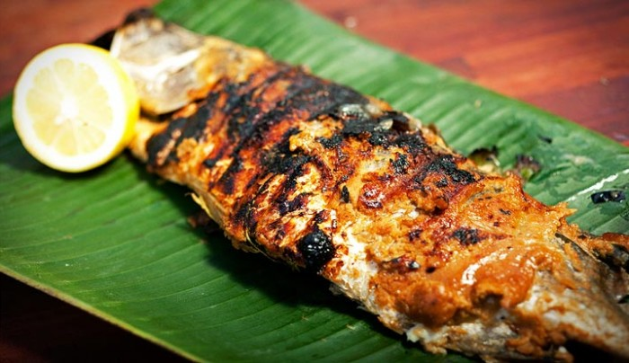 Whole Barramundi with Miso and Ginger