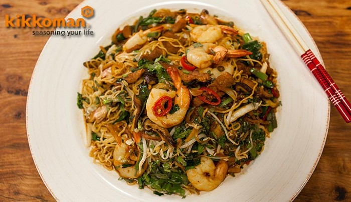 Singapore Fried Noodles