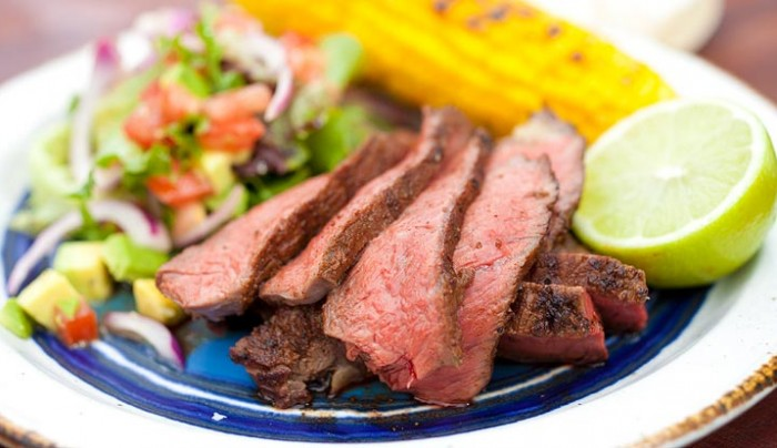Texan BBQ Rump Fillet with Mexican Relish