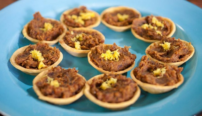 Date and Almond Tarts