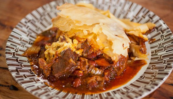 Texan Chilli Beef and Bean Fillo Pie