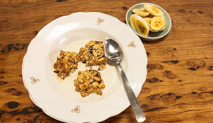 Oat, Fruit & agave Clusters