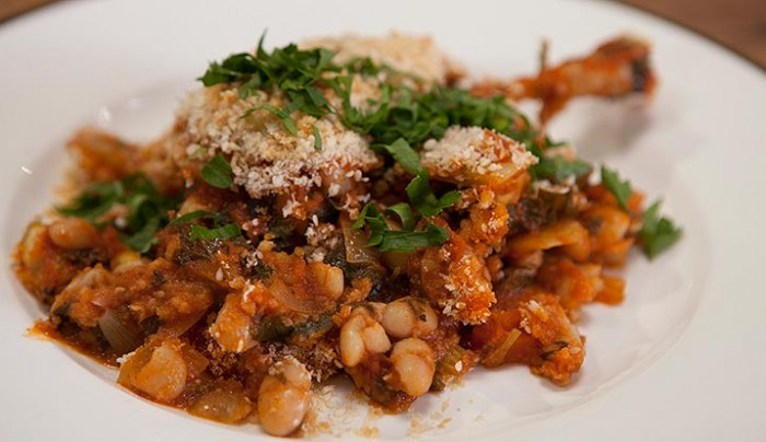 Duck Cassoulet with Cannellini Braise
