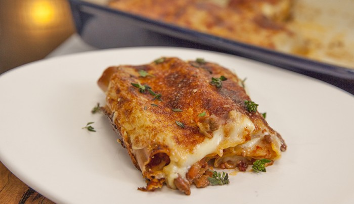 Wagyu Beef and Mushroom Cannelloni