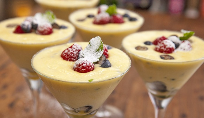 Egg White Chocolate Mousse Healthy