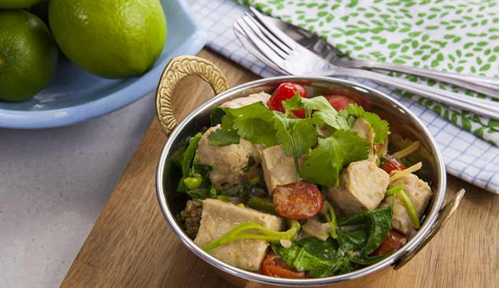 Green Curry Tempeh Salad