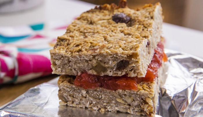 Banana Oat Power Bars