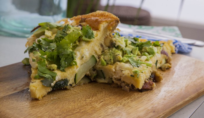 ... and Veggie Couscous Frittata with Smashed Avocado | Good Chef Bad Chef