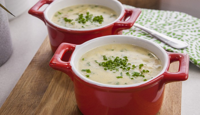 Cheese, Potato and Beer Soup