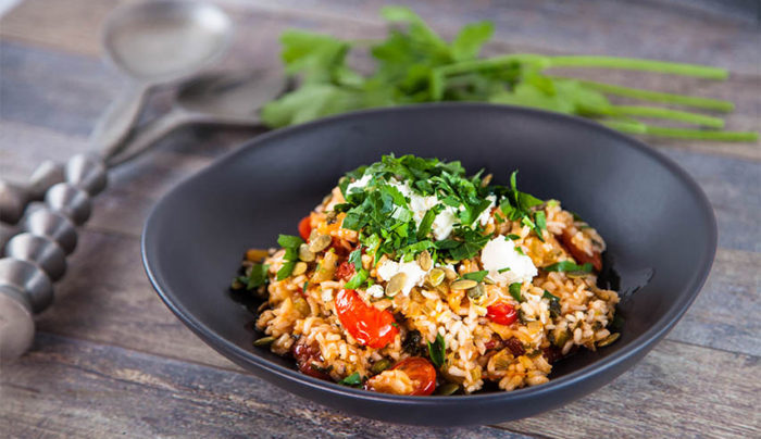Oven-baked Tomato Risotto